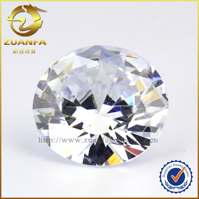 6mm round brilliant cut diamonds 8 heart 8 arrow raw material synthetic stones cubic zirconia wholesale price