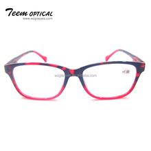 2018 New style good looking design optics PC frame fashion reading glasses