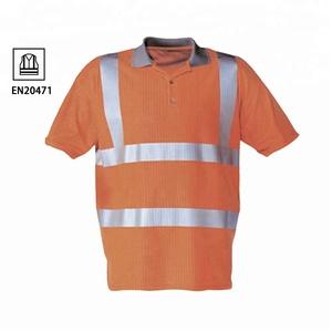 e8fa1f3e7c32 Hi Vis Polo Shirts Orange