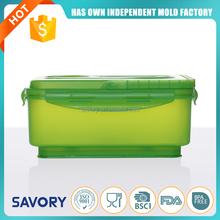 Good quality cheap price 3000ml new portable plastic salad bowl