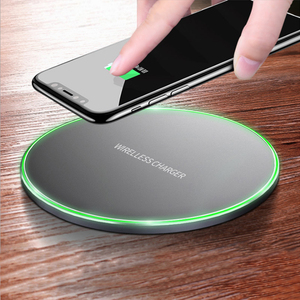 Oem 2018 Newest Portable Cell Phone Wireless Charger 10W Fast Charge Charging Pad