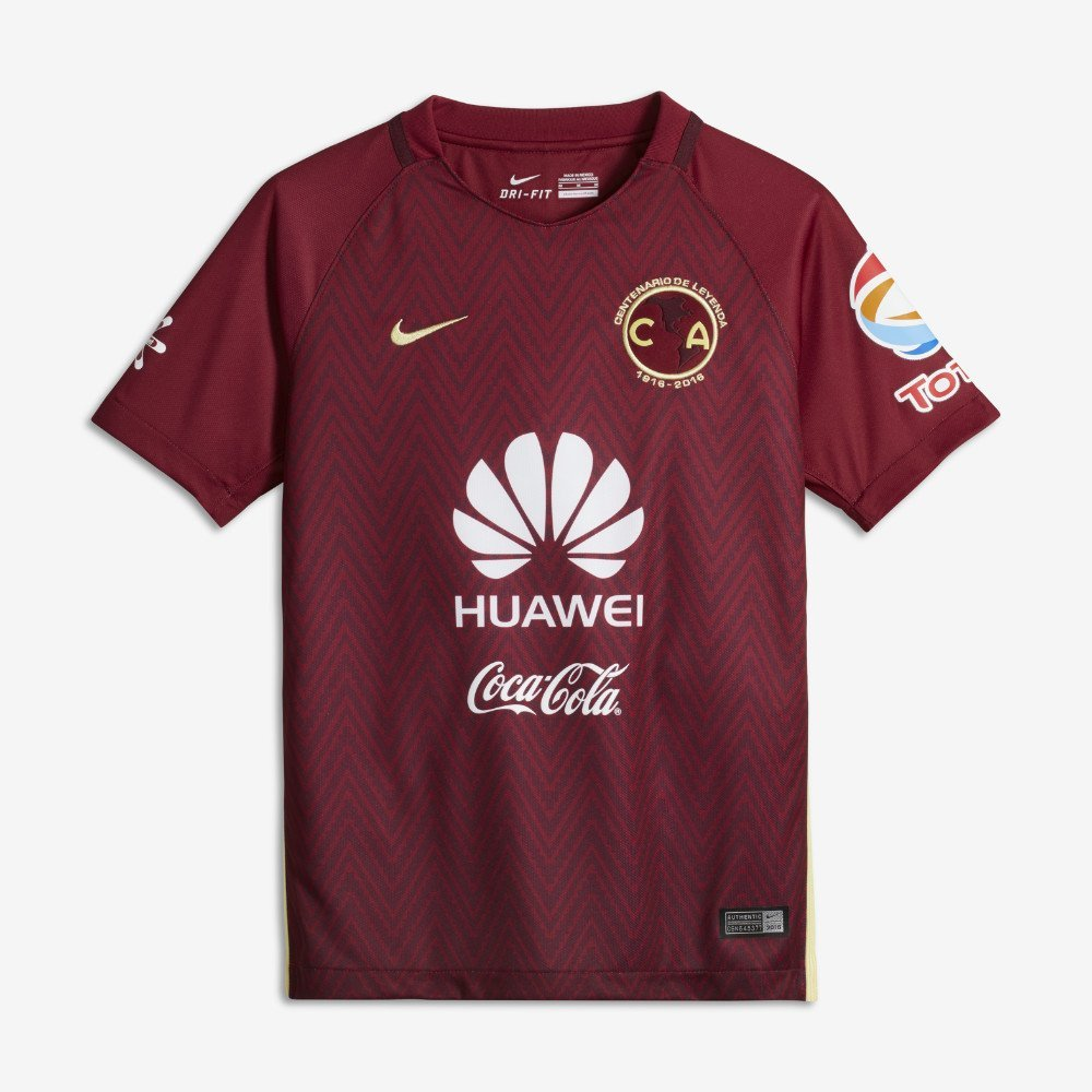 6a04c828d Get Quotations · Nike Youth Club America Stadium Jersey-TEAM RED