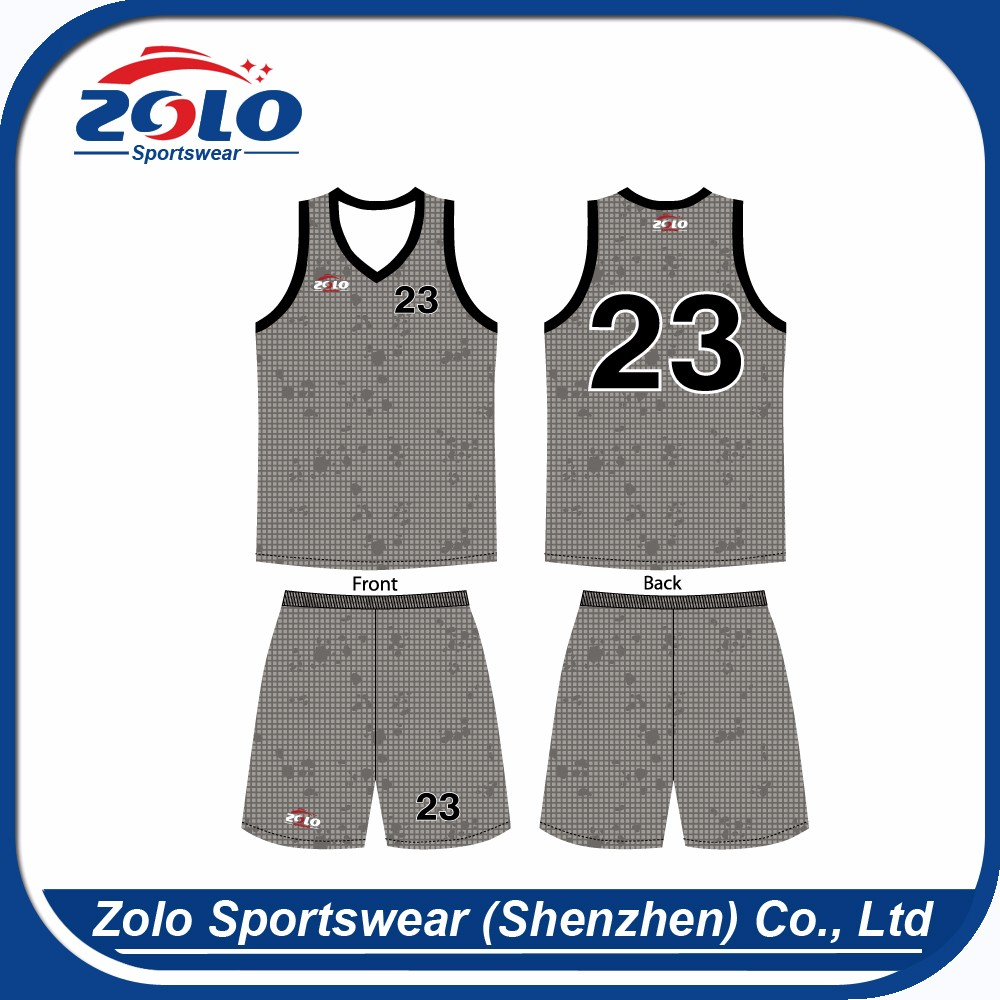 High quality preferential price brand school plain basketball jerseys