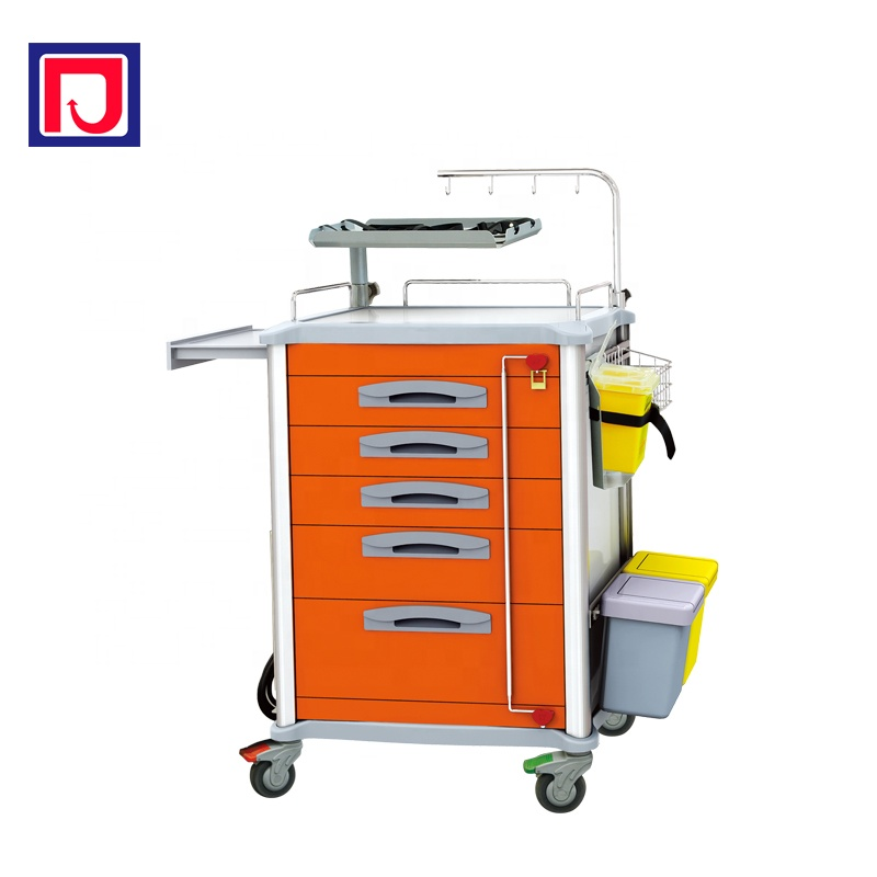Hospital emergency trolley cart rescue crash trolley equipment