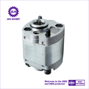 high pressure aluminum CKB series micro / small hydraulic gear oil pump for power unit