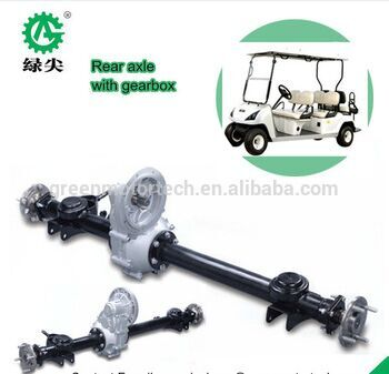 10kw Small Electric Car Drive Rear Axle With Gearbox