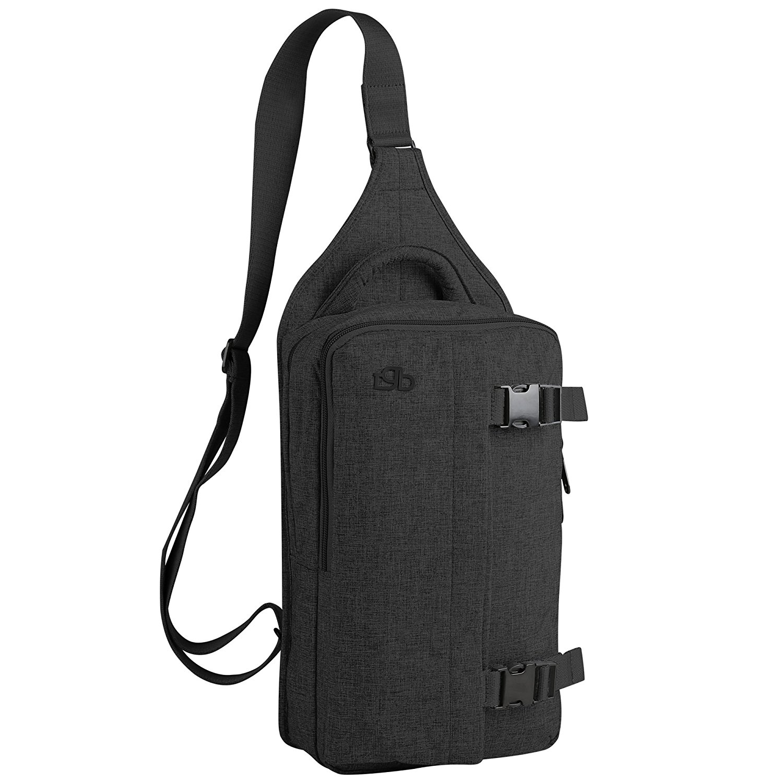 Zpoint Fashionable Messenger Bag Shoulder Bag Travel Daypack for 10 Inch Laptop, Tablet, Macbook, Notebook, Ultrabook(5301Dark Grey)