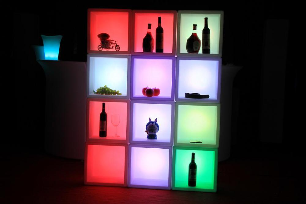 Rgb Waterproof Led Bar Furniture/chair/led Cube Plastic Bar ...