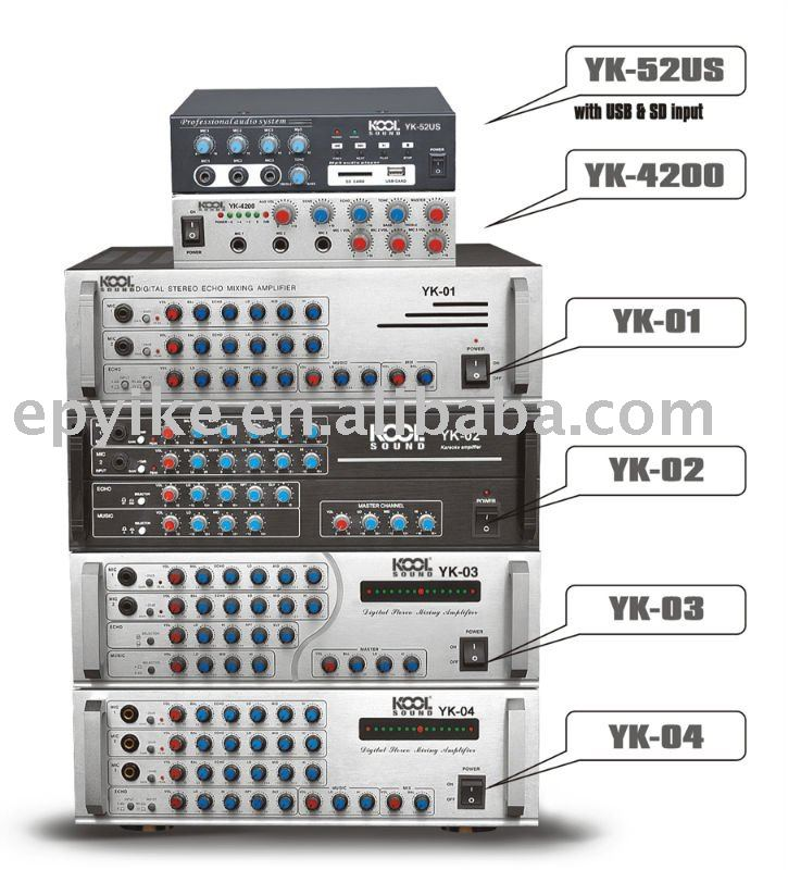 Professional Sound System Ktv Mixer Lifier Yk52usyk4200yk01 Rhalibaba: Audio System Amplifier At Gmaili.net