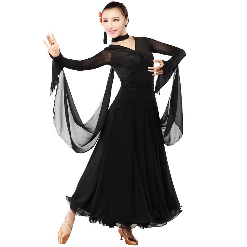 a4de92a72b758 Get Quotations · Women Dress for Ballroom Dancing Standard Ballroom Dance  Dress Tango Waltz Dance Dress Robe De Bal