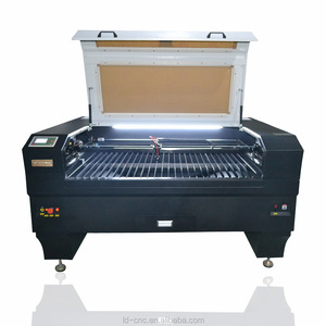 hot sale LD 1290 Laser Engraving machine and Cutting machine /glass engraving machine /lether engraving machine