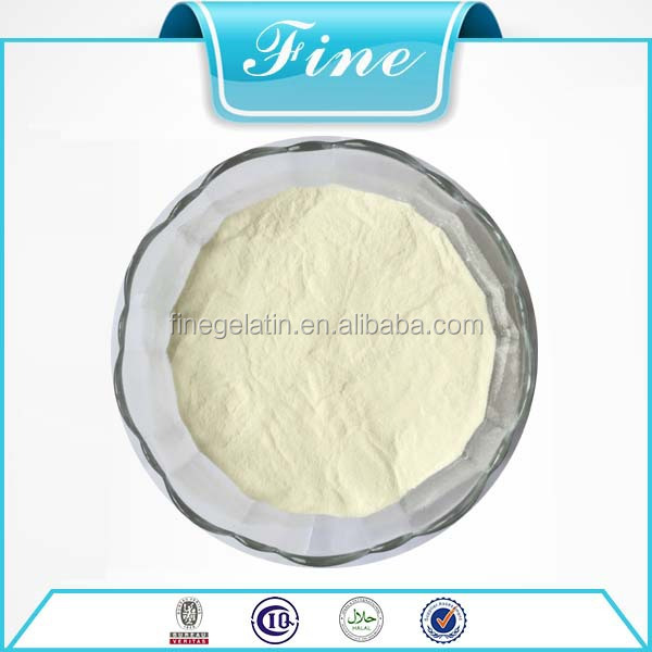 Bovine hydrolyzed collagen used for food supplements