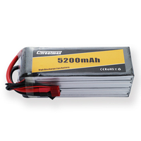 GreatMax 45C 6S 22.2V 5200mAh RC Toy LiPo Battery Pack