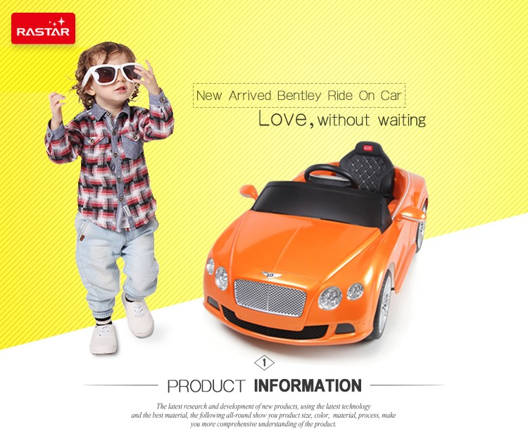 Bentley Power Wheels Toy Car Kids China Toddler Ride Ons