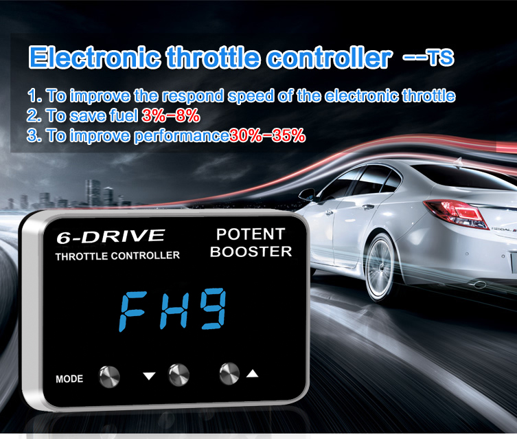 Electronic Throttle Accelerator Controller Booster 9 Mode Drive for Honda Buick