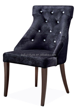 Upholstered Metal Low Back Cafe Sofa Chair Dining Chair For Western Restaurant QL8984