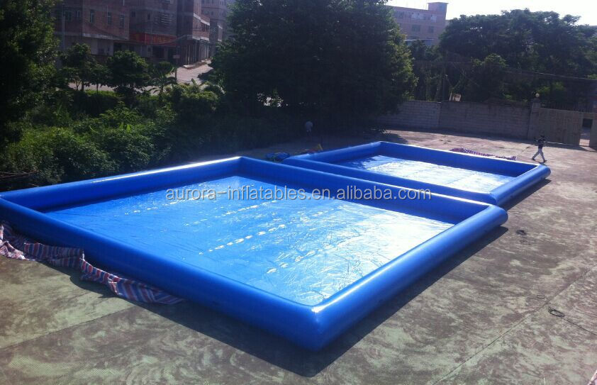 Inflatable Plastic Giant Swimming Pool For Kiddie Kids Folding Infant Water Paddling Games