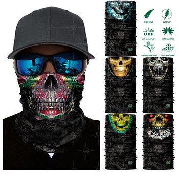 High Quality Headwear Scarf Wrap Tubular Bandana Skull Face Tube Mask  Seamless Style Bandana 468b8bd5e83