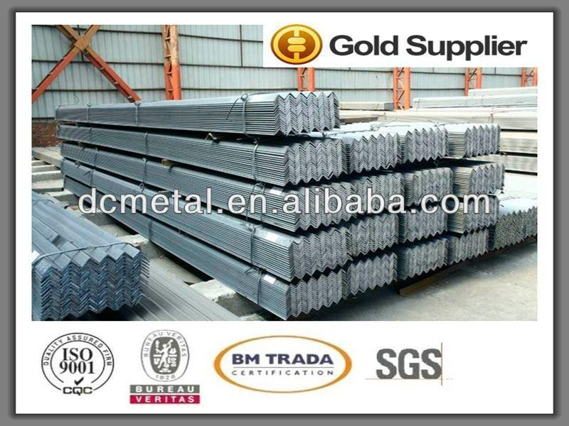 Trade Assurance Cold Rolled Steel Angle 50*50*5 Size Chart For ...