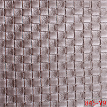 woven pattern PVC leather for resturant chair upholstery / PVC fabric made in china