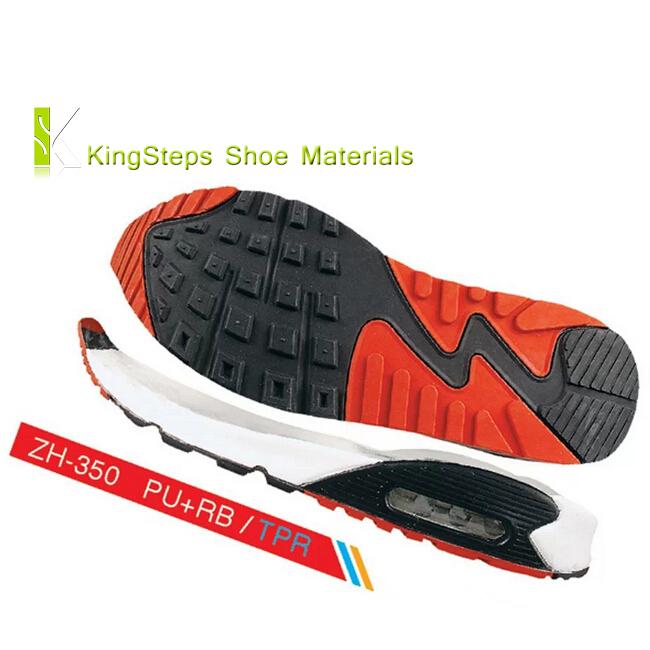 Pu Air Cushion Shoes Sole Rubber Running Shoe Outsoles Made In Jinjiang Outer Soles Kszh 350 Buy Air Cushion Shoes Sole Pu Rubber Outsoles Product