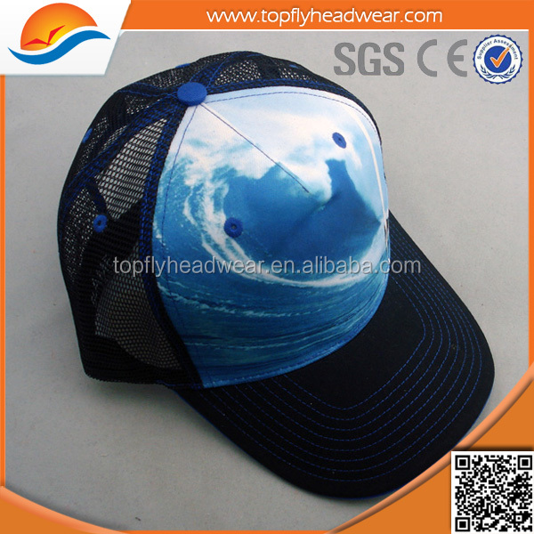 Designed Latest Sublimation Printing Mesh Hats Trucker Caps