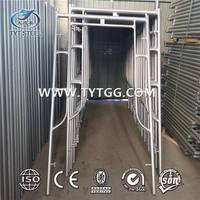 Hot selling h frame scaffolding with CE certificate aluminum scaffold frame system