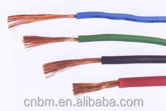 Single Core PVC Insulated Flexible Cable price GB/T 5023 copper cable scrap