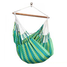 Outdoor canvas cover swing rope stand hammock chair