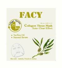 Facy : Acne Free Collagen Tissue Mask Anti-Bacteria Pimples & Rashes Beauty Product of Thailand