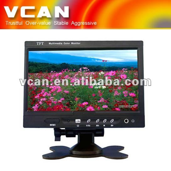 roof mount car tft lcd flip down monitor TM-7003A-35