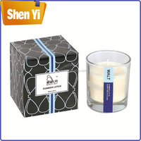 Popular customized design art paper candle box
