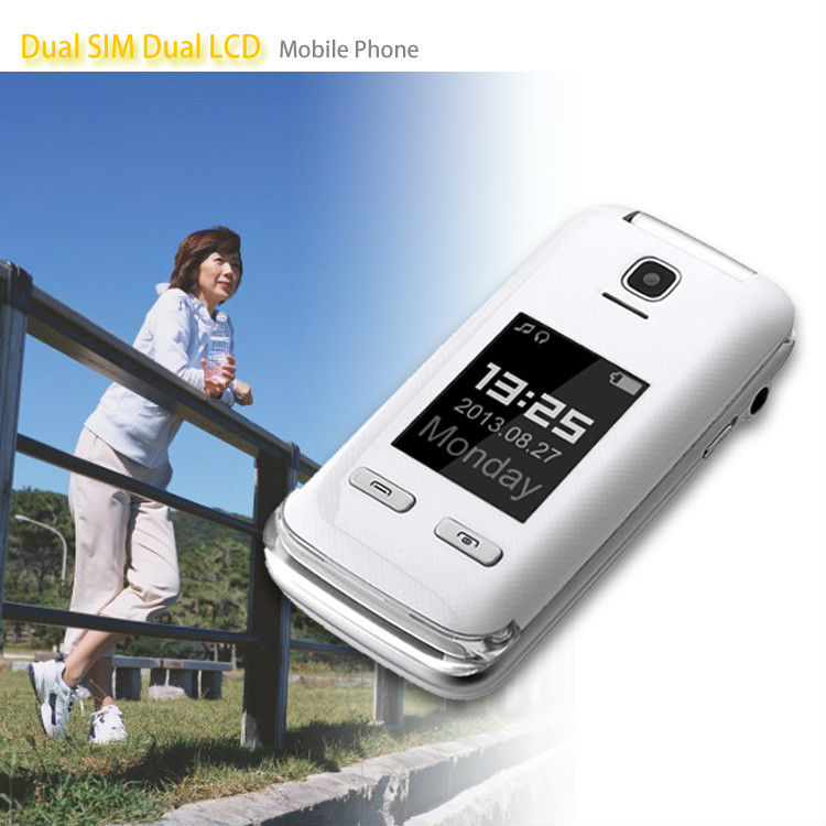 Fashionable professional dual sim slider mobile phone