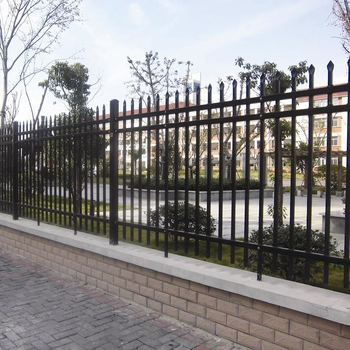 Cheap PVC coated ornamental wrought iron fence