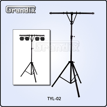 Pro tripod with t bar support dj lighting stand tyl 02 buy light pro tripod with t bar support dj lighting stand tyl 02 aloadofball Choice Image