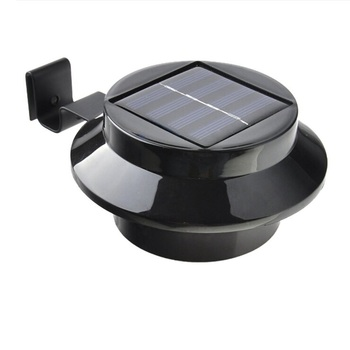 Solar Power Fence Security Light for House Fence Outdoor LED Solar Garden Gutter Night Light