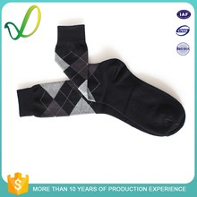 men's argyle dress socksbusiness dress combed cotton sockscustom design men cotton socks