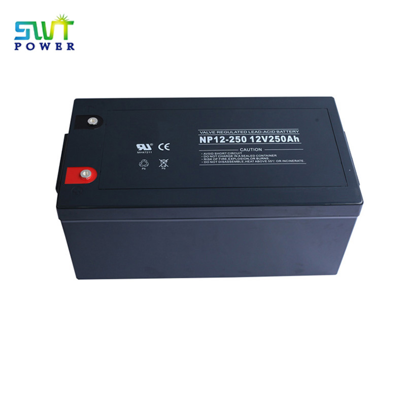 High Quality Solar Lithium Storage AGM 200ah Battery China