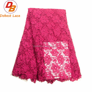 Cheap simple guipure lace fabric
