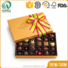 Best selling wedding chocolate gift box packaging chocolate boxes wholesale