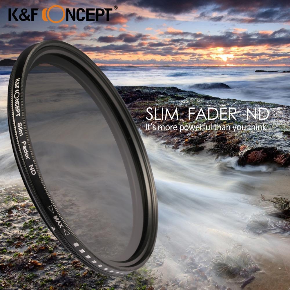 67 мм Тонкий Fader Переменной ND Фильтр Нейтральной Плотности Регулируемая ND2 ~ ND400 Фильтра Объектива Очистки Pen Розничной Коробке для Canon Nikon