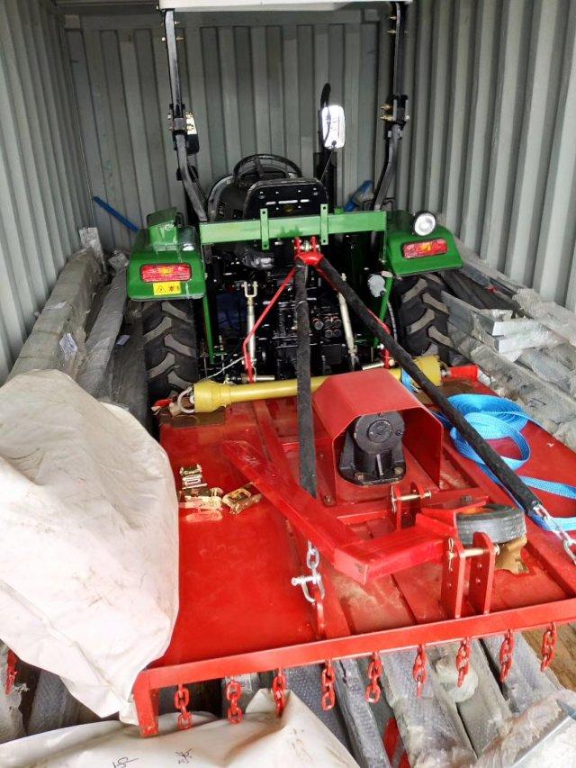 Equipamento agrícola 25hp mini trator para venda com enxada rotativa