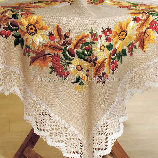 Perfect Hand Embroidery Designs Tablecloth, Hand Embroidery Designs Tablecloth  Suppliers And Manufacturers At Alibaba.com