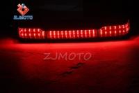 Zjmoto King Tour Pack Wrap Around Motorcycle Touring Trunk Led ...