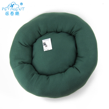 Factory Cheap Round plush pet bed for cat,new design dog bed of small dogs