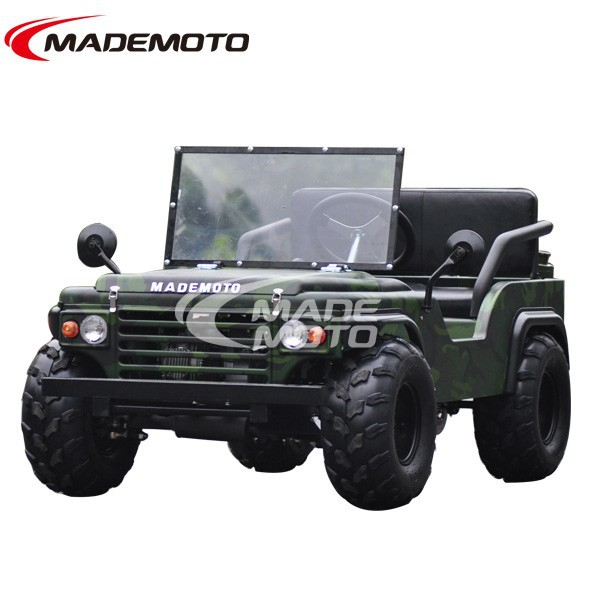 110cc wholesale mini jeep willys new style, cheap mini atv ,electric car