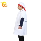 cheap custom professional choice hotel cotton uniforms with chef hat