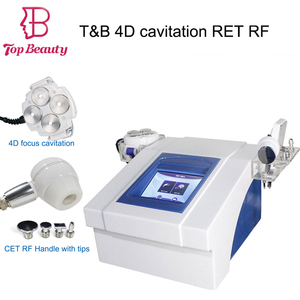 Top Beauty RET RF 4D cavitation machine for body slimming and face lifting