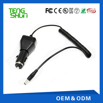 12.6V1A car battery charger for 11.1V li-ion battery