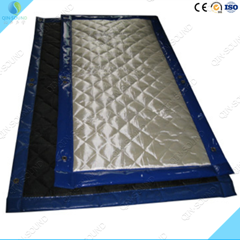 Noise Block Soundproof System Barrier Acoustic Curtain